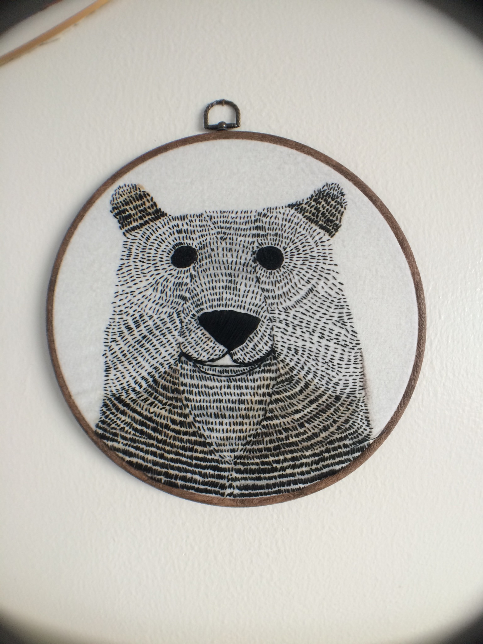 embroidery bear